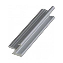 Ручка профиль врезная UKW 1 Zobal алюминиевая L -3500мм 18мм (цена за пог.м)