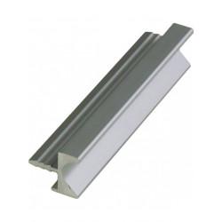 Ручка профиль врезная UKW 4 Zobal алюминиевая L -3500мм 18мм (цена за пог.м)