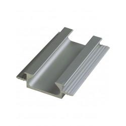 Ручка профиль врезная UKW 6 Zobal алюминиевая L -3500мм 18мм (цена за пог.м)