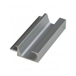 Ручка профиль врезная UKW 8 Zobal алюминиевая L -3500мм 16мм (цена за пог.м)