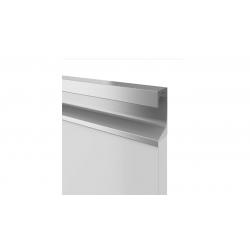 Ручка профиль врезная UKW 7 Zobal алюминиевая L -3500мм 18мм (цена за пог.м)