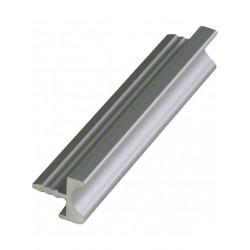Ручка профиль врезная UKW 9 Zobal алюминиевая L -3500мм 16мм  (цена за пог.м)