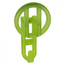 Детские крючки для одежды - прозрачный зелёный