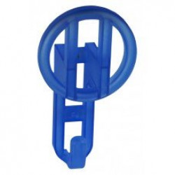 Детские крючки для одежды - прозрачный синий