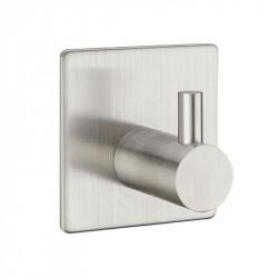 Крючки в ванную из нержавеющей стали одинарный квадратный/прямой, матовый