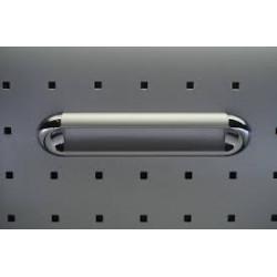 Ручки для мебели 128ММ SENA KULP ХРОМ-МАТОВЫЙ-ХРОМ 14312