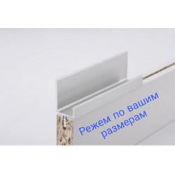 Мебельные ручкиН2 L= 5950мм Серебро