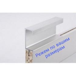 Ручки для мебелиН3 L= 5950мм Серебро BRUSH